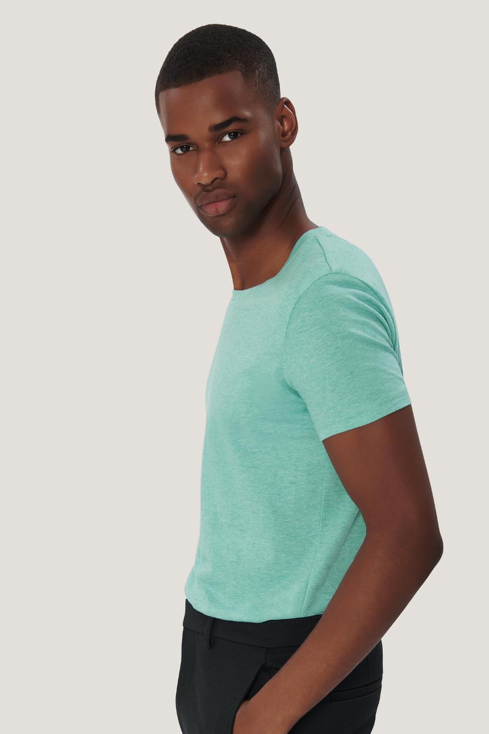 1c0c294c689c Herren T-Shirt GOTS-Organic Hakro Rundhals T-Shirt Bio - werk5 ...
