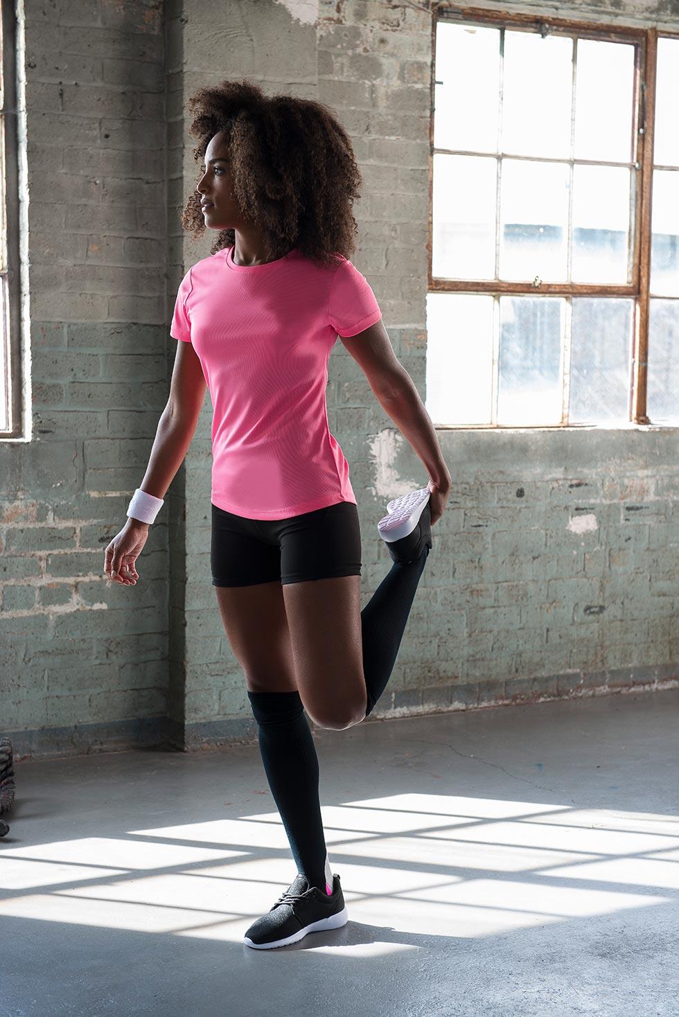 12dcc8482b89 Funktions T-Shirt Damen Just Cool Rundhals Activ Shirt - werk5 ...
